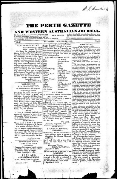 File:The Perth Gazette and Western Australian Journal 1(36).djvu