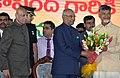 The President, Shri Ram Nath Kovind at a civic reception and public meeting at Sri Venkateswara Arts College Ground, in Tirupati, Andhra Pradesh.jpg
