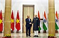 The Prime Minister, Shri Narendra Modi with the Prime Minister of the Socialist Republic of Vietnam, Mr. Nguyen Xuan Phuc, at Hyderabad House, in New Delhi on January 24, 2018 (3).jpg