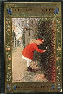 The Secret Garden book cover - Project Gutenberg eText 17396.jpg