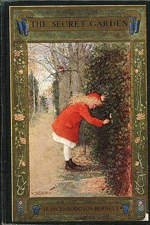 The Secret Garden book cover - Project Gutenberg eText 17396.jpg