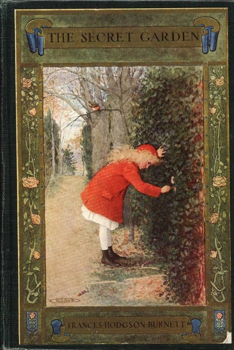 The Secret Garden book cover - Project Gutenberg eText 17396