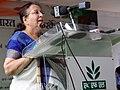 The Speaker, Lok Sabha, Smt. Sumitra Mahajan addressing at the inauguration of the Exhibition-cum-Seminar.jpg