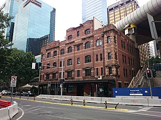 Sussex Hotel - Image: The Sussex Hotel on Sussex Street, Sydney 2