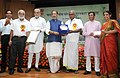 The Union Minister for Agriculture and Farmers Welfare, Shri Radha Mohan Singh presented the Plant Genome Savior Community Awards (2012-13), at a function, in New Delhi.jpg