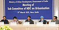 The Union Minister for Urban Development, Shri Kamal Nath chairing the first meeting of the sub-committee on urbanisation of NDC, in New Delhi on March 03, 2011.jpg
