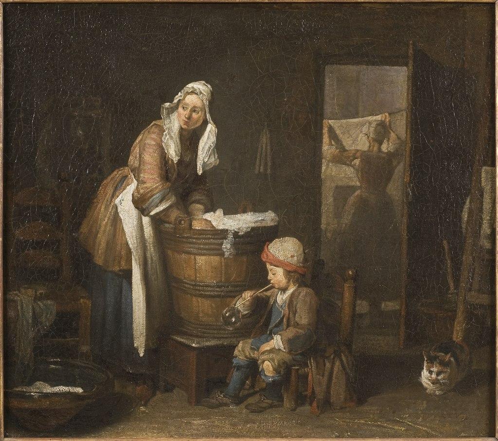 La lavandera (Jean Siméon Chardin) - Nationalmuseum - 17783.tif