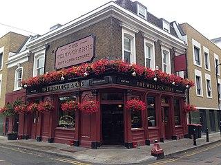 pub in Hoxton, London