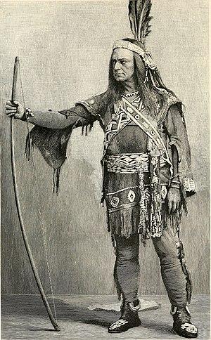 Metamora; or, The Last of the Wampanoags - Edwin Forrest as Metamora in 1829