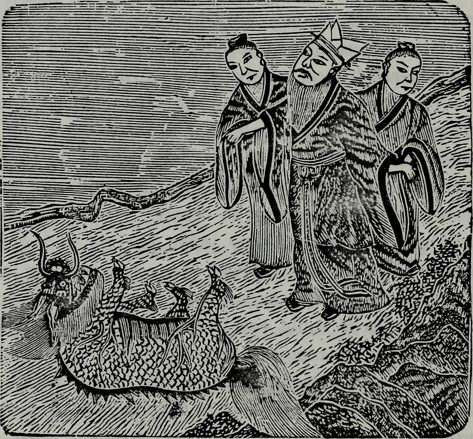 The dragon, image, and demon; or, The three religions of China- Confucianism, Buddhism, and Taoism, giving an account of the mythology, idolatry, and demonolatry of the Chinese (1887) (14780807461)