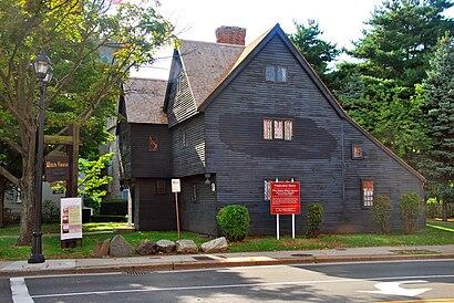 Cómo llegar a Salem Witch House en transporte público - Sobre el lugar