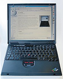ibm thinkpad t20 series wikipedia rh en wikipedia org IBM ThinkPad T60 IBM ThinkPad T21
