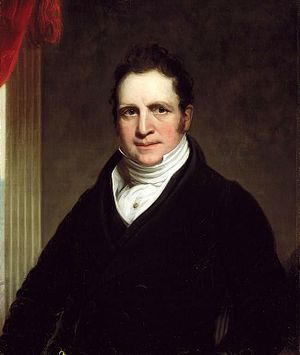Thomas Apthorpe Cooper - Cooper circa 1822, painting by Chester Harding