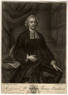 Thomas Bradbury British minister