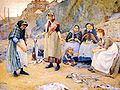 Thomas Cooper Gotch - Sharing Fish 1891.jpg