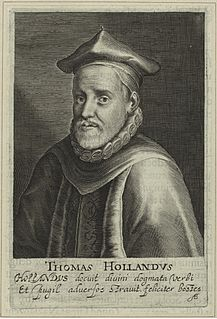 Thomas Holland (translator) English Calvinist scholar and theologian, one of the translators of the King James Version of the Bible