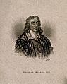 Thomas Willis. Line engraving after D. Loggan. Wellcome V0006301EL.jpg