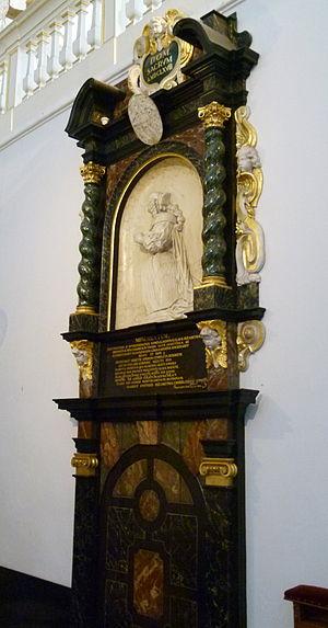 Clara Elisabeth of Manderscheid-Blankenheim - Image: Thorn, Abdijkerk 21