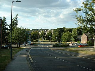 Thornhill, Southampton Human settlement in England