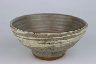 Mingei - Thrown bowl by Bernard Leach