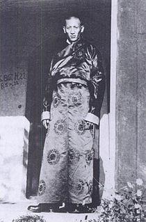 Thubten Kunphela Tibetan politician (1905-1963)