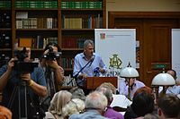 Timothy David Snyder Lviv Publishers' Forum-2014(YDS 9922).JPG