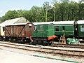 Tiny locomotive, Norchard railway station - geograph.org.uk - 1944728.jpg