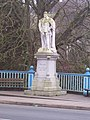 Tiverton , Edward the Peacemaker - geograph.org.uk - 1128271.jpg