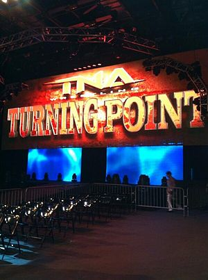 Impact Zone - Soundstage 19 in November 2013 (the company wasn't referring to the building as the Impact Zone at the time)