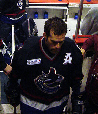 Todd Bertuzzi - Bertuzzi spent seven-and-a-half seasons with the Canucks.