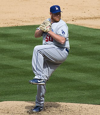 Todd Coffey - Coffey with the Los Angeles Dodgers in 2012