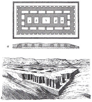 Hor-Aha - Mastaba attributed to Neithhotep which is believed to have been built by Hor-Aha.