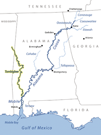 wolf river mississippi map List Of Rivers Of Mississippi Wikipedia wolf river mississippi map