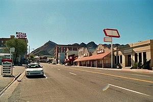 U.S. Route 6 in Nevada - Image: Tonopah NV