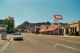 U.S. Route 6 in Nevada - Image: Tonopah NV