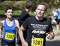 Tony Abbott competing in the Lake to Lagoon in Wagga Wagga.jpg