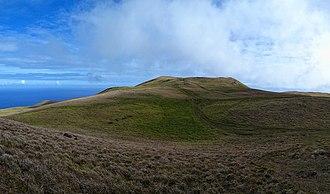 Terevaka - Image: Top of Terevaka 2013