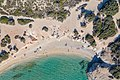 Top down aerial of the southern part of Hawaii Beach on Naxos Island, Greece.jpg