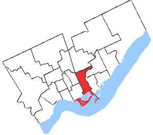Toronto Centre - Image: Toronto Centre, 1966