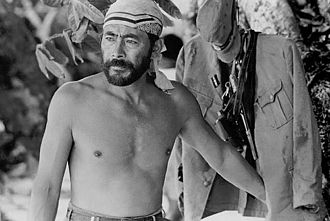 Toshiro Mifune - Mifune while filming Hell in the Pacific (1968)