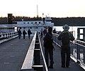 Tourists on public dock, Bartlett Cove 262 01.jpg