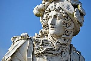 Anne Hilarion de Tourville - Image: Tourville Statue 02