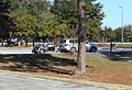 Toyota Highlander with Motorcycle Trailer @ I-95 Glynn Co Rest Area (Close-Up).jpg