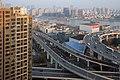 Traffic near Nanpu Bridge Shanghai.jpg