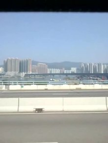 Archivo:Traffic on one of Hong Kong bridges.webm