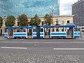 Tram 104 Mere puiestee Stop Tallinn 28 July 2014.JPG