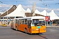 Tram in Sofia in front of Central Railway Station 2012 PD 026.jpg