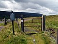 Trans Pennine Trail West meets the A628 Road - geograph.org.uk - 490184.jpg