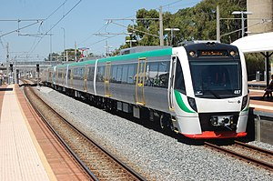 Transperth Trains - B-series in February 2010