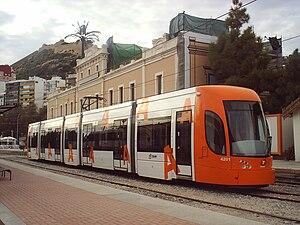 Ferrocarrils de la Generalitat Valenciana - Image: Tranvia Bombardier